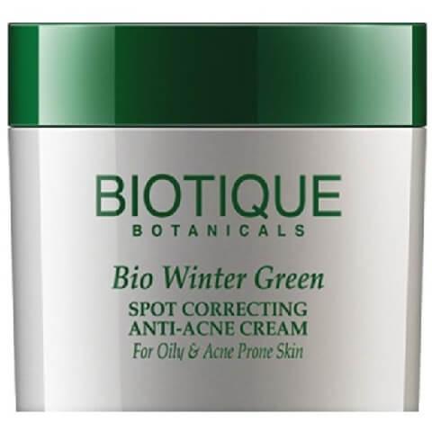 Biotique Bio Winter Green Anti Acne Cream,  15 g  for Oily & Acne Prone Skin
