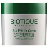 Biotique Bio Winter Green Anti Acne Cream,  15 G  For Oily & Acne Prone Skin