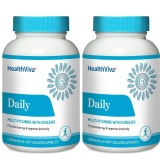 HealthViva Daily (Multivitamin with Ginseng) - Pack of 2