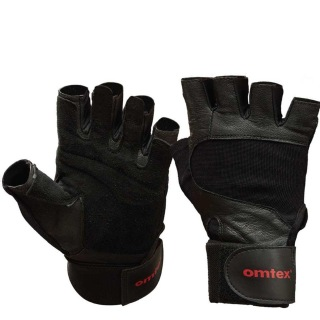 Omtex Gym Gloves (Pro),  Black  Medium