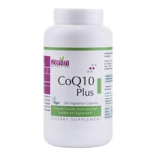 Zenith Nutrition CoQ10 Plus,  240 capsules