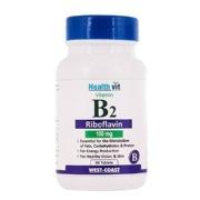 Healthvit Vitamin B2 Riboflavin  100 mg