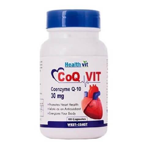Healthvit CoQ Vit Coenzyme Q-10 (30 mg),  60 capsules