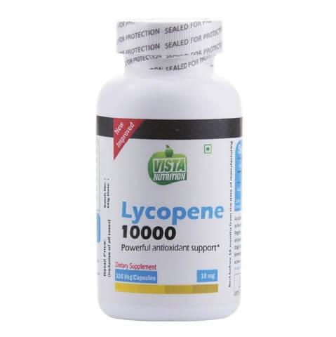 Vista Nutrition Lycopene - 10000,  120 capsules