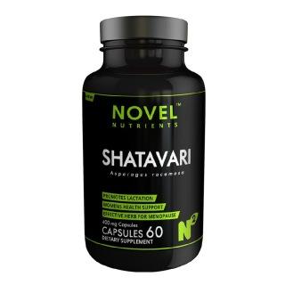 Novel Nutrients Shatavari (400 mg),  60 capsules
