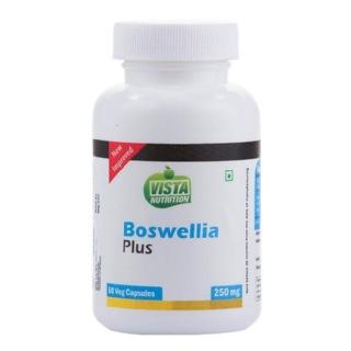 Vista Nutrition Boswellia Plus (250 mg),  60 veggie capsule(s)