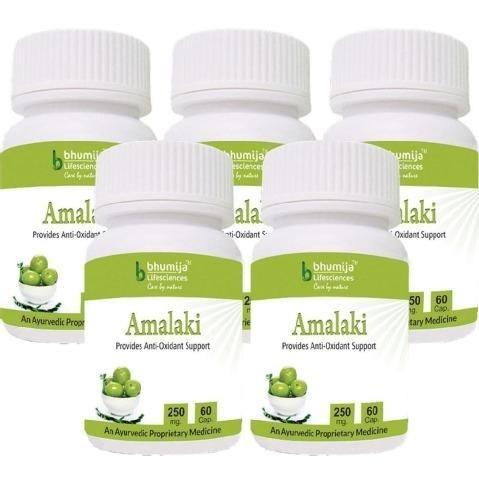 Bhumija Amalaki, 60 capsules - Pack of 5