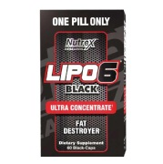 Nutrex Lipo-6 Black UC,  60 capsules  Unflavoured
