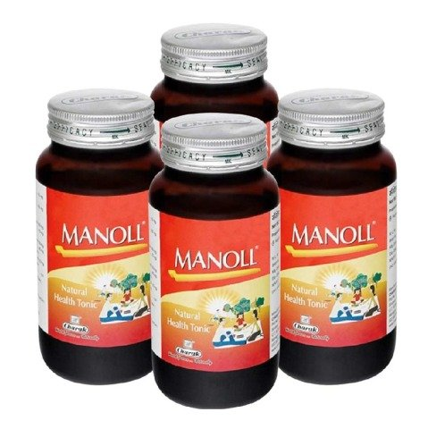 Charak Manoll,  400 g  - Pack of 4