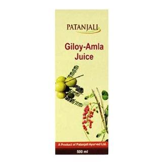 Patanjali Amla Juice,  Giloy  0.5 L