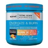 GNC Total Lean Advanced Energize Burn Powder,  220.8 G  Fruit Punch