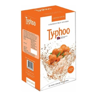 Typhoo Fruit Infusion,  Orange Spicer  25 Piece(s)/Pack