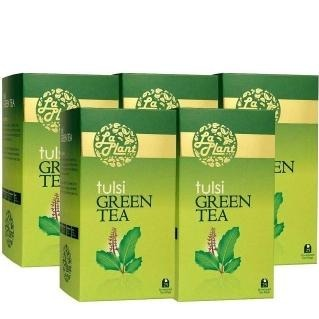 Laplant Tulsi Green Tea, 25 Piece(s)/Pack Tulsi - Pack of 5