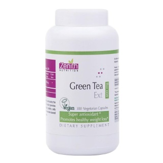 Zenith Nutrition Green Tea Extract (400 mg),  300 capsules  Unflavoured