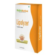 NutroActive Lipolyzer Tummy,  30 tablet(s)  Unflavoured