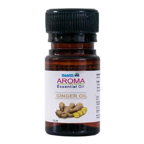 Healthvit Aroma Ginger Oil,  15 ml  for All Skin Types