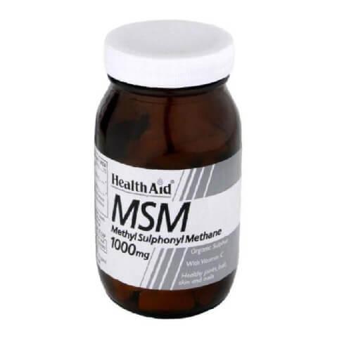 HealthAid MSM (1000mg),  90 tablet(s)