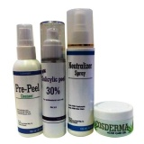 Cosderma Salicylic Acid Acne Peel 30% Home Use Kit,  4 Piece(s)/Pack  For All Skin Type