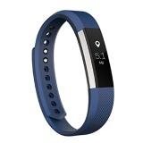 Fitbit Alta Fitness Tracker,  Small (Silver/Blue)