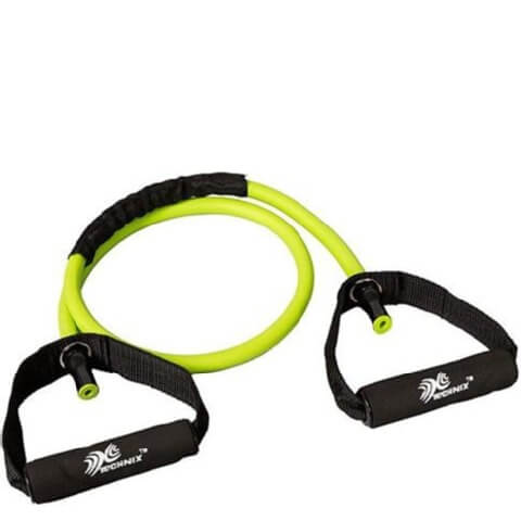 Technix Resistance Tube,  Green & Black  Free Size