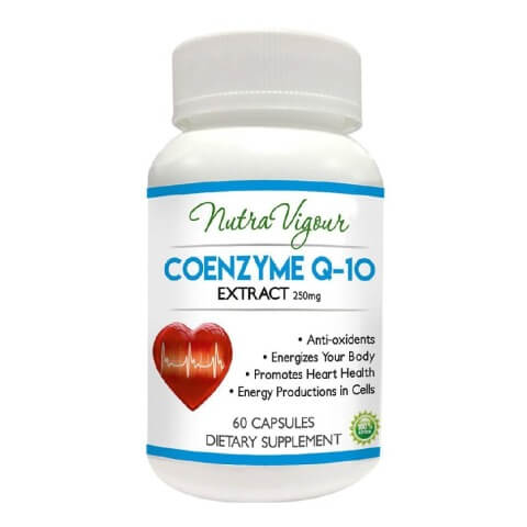 Perennial Lifesciences Co enzyme Q10 Nutra Vigour,  60 capsules