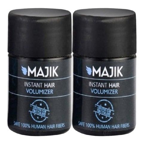 Majik Instant Hair Volumizer, Dark Brown 7 g - Pack of 2
