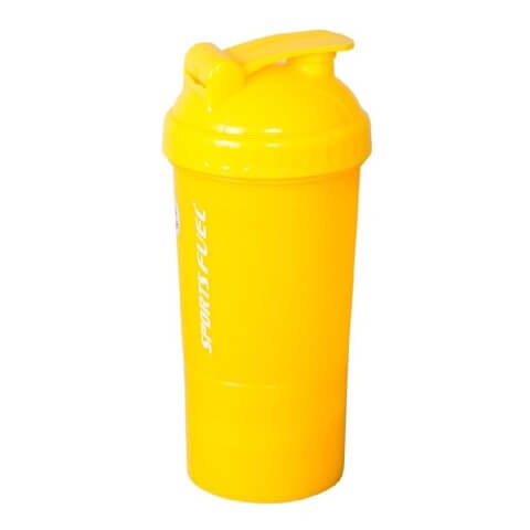 Sports Fuel Protein Super Shaker,  Yellow  500 ml