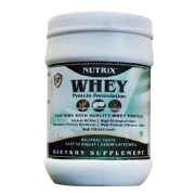 Nutrix Whey Protein Powder,  2.2 lb  Unflavoured