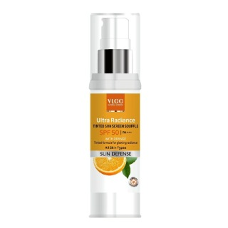 VLCC Ultra Radiance Tinted Sun Screen Souffle SPF 50,  40 ml  Sun Defense