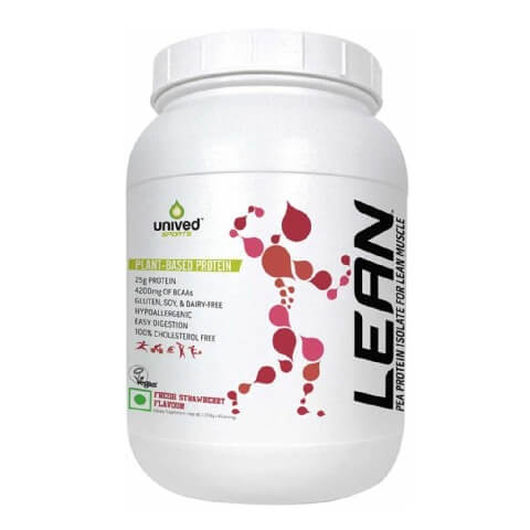 Unived Lean Pea Protein Isolate,  3.77 lb  Strawberry