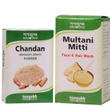 Tansukh Chandan & Multani Mitti Powder,  125 G  For All Skin Types