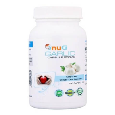 SnuG Garlic 250MG,  60 capsules