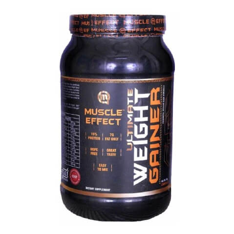 Muscle Effect Ultimate Weight Gainer,  Chocolate  2.2 lb