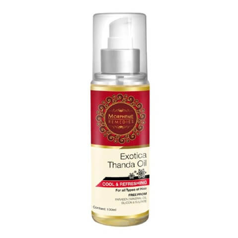 Morpheme Remedies Exotica Thanda Hair Oil,  100 ml  All Type Hair