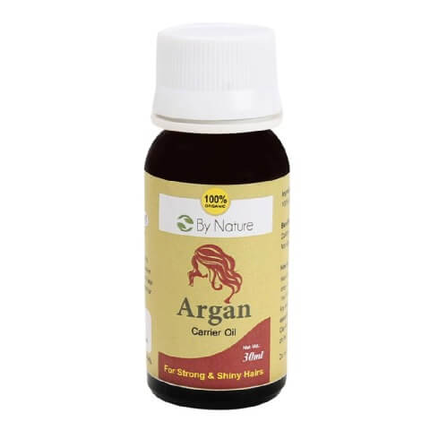 By Nature Argan Carrier Oil,  30 ml  Strong & Shiny Hairs
