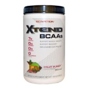 Scivation Xtend BCAA (Intra Workout Catalyst),  0.86 lb  Fruit Punch
