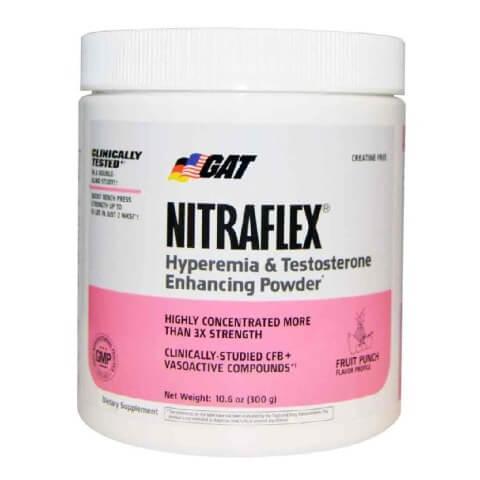 GAT Nitraflex, 0.66 lb Fruit Punch at healthkart
