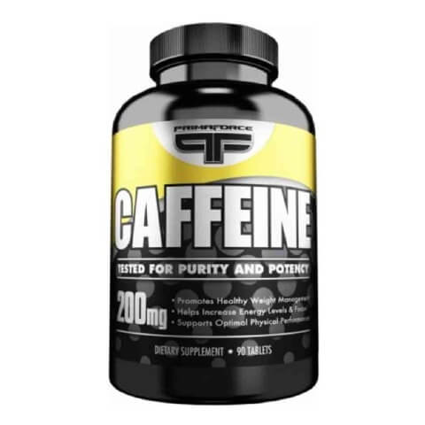 Primaforce Caffeine (200 mg),  90 tablet(s)  Unflavoured