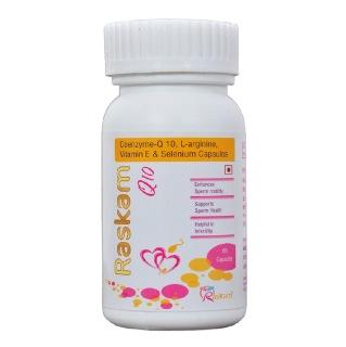 Raskam Q 10,  60 capsules