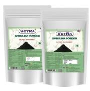 Vetra Spirulina Powder  Pack of 2