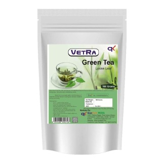 Vetra Green Tea Loose Leaf,  0.1 kg  Unflavoured