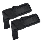 B Fit USA Heavy Weight Lifting Strap,  Black  Free Size