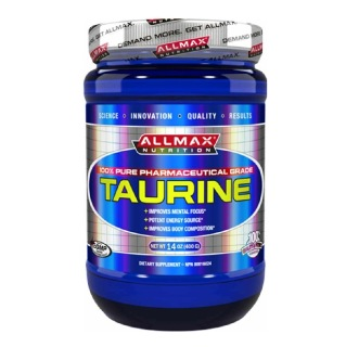 Allmax Taurine Powder,  0.88 lb  Unflavoured