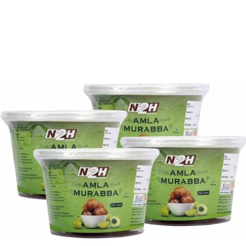 N2H Amla Murabba - Pack of 4 0.250 kg