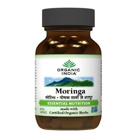 Organic India Moringa,  60 veggie capsule(s)