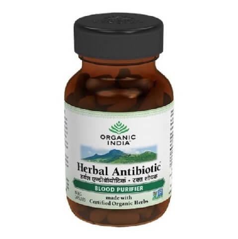 Organic India Herbal Antibiotic,  60 capsules