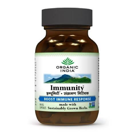 Organic India Immunity,  60 capsules