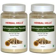 Herbal Hills Ashwagandha Powder  Pack of 2
