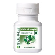 Amway Nutrilite Alfalfa Calcium Plus,  90 tablet(s)  Unflavoured