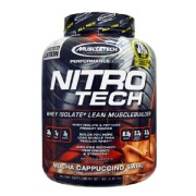 MuscleTech NitroTech Performance Series,  3.97 lb  Mocha Cappucino